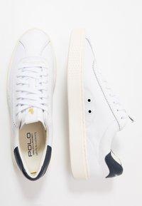 Polo Ralph Lauren - COURT - Joggesko - white/newport navy - 1
