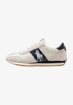 TRAIN - Sneakers basse - egret/white