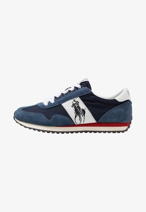 TRAIN - Sneaker low - newport navy/white