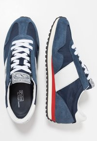 Polo Ralph Lauren - TRAIN - Sneakers basse - newport navy/white - 1