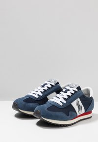 Polo Ralph Lauren - TRAIN - Sneakers basse - newport navy/white