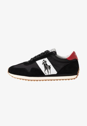 TRAIN - Sneaker low - black/red