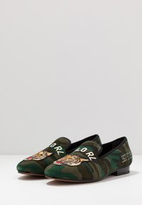 Polo Ralph Lauren - PAXTON - Slip-ins - olive - 2