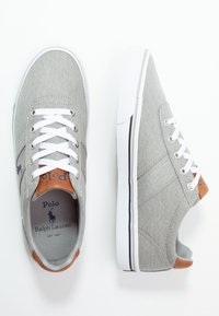 Polo Ralph Lauren - HANFORD - Sneakers basse - soft grey/navy - 1