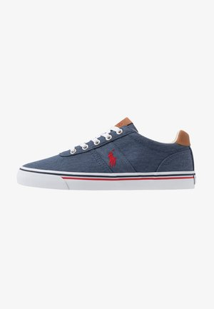 HANFORD - Sneakersy niskie - newport navy/red