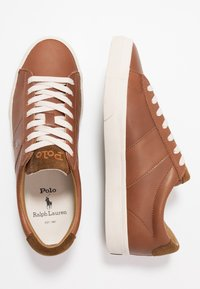 Polo Ralph Lauren - SAYER  - Baskets basses - tan - 1