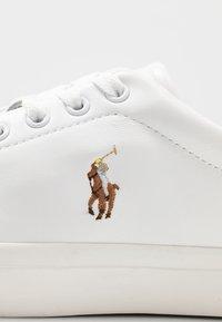 Polo Ralph Lauren - LONGWOOD - Sneakers - white - 5