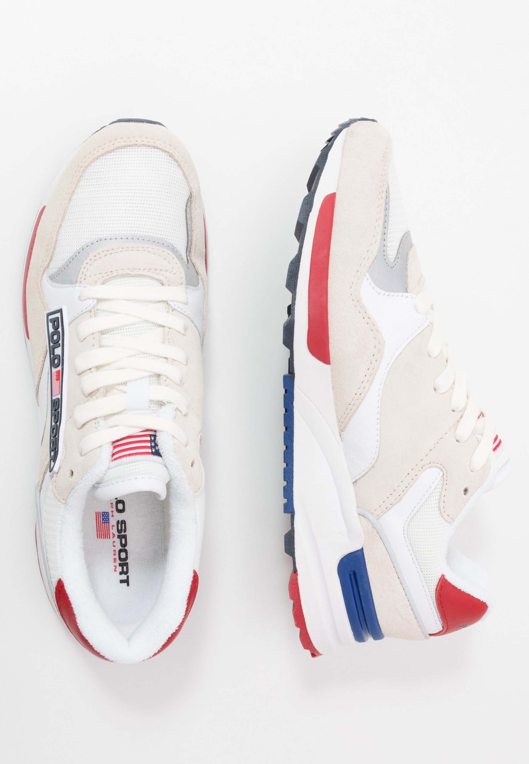 Polo Ralph Lauren Sneakers Laag - White cHH7ik4