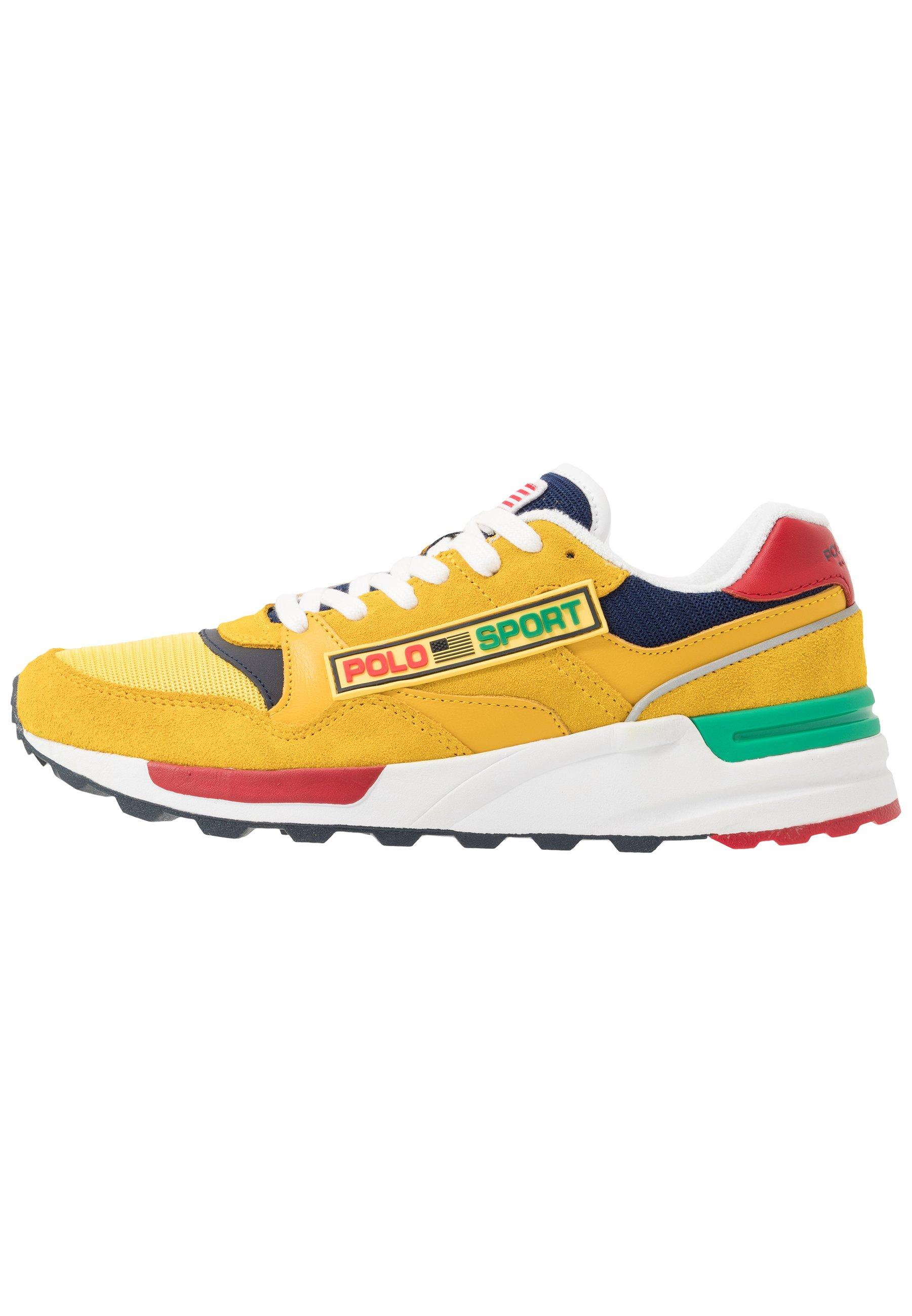Polo Ralph Lauren Sneaker Low - Chrome Yellow Black Friday