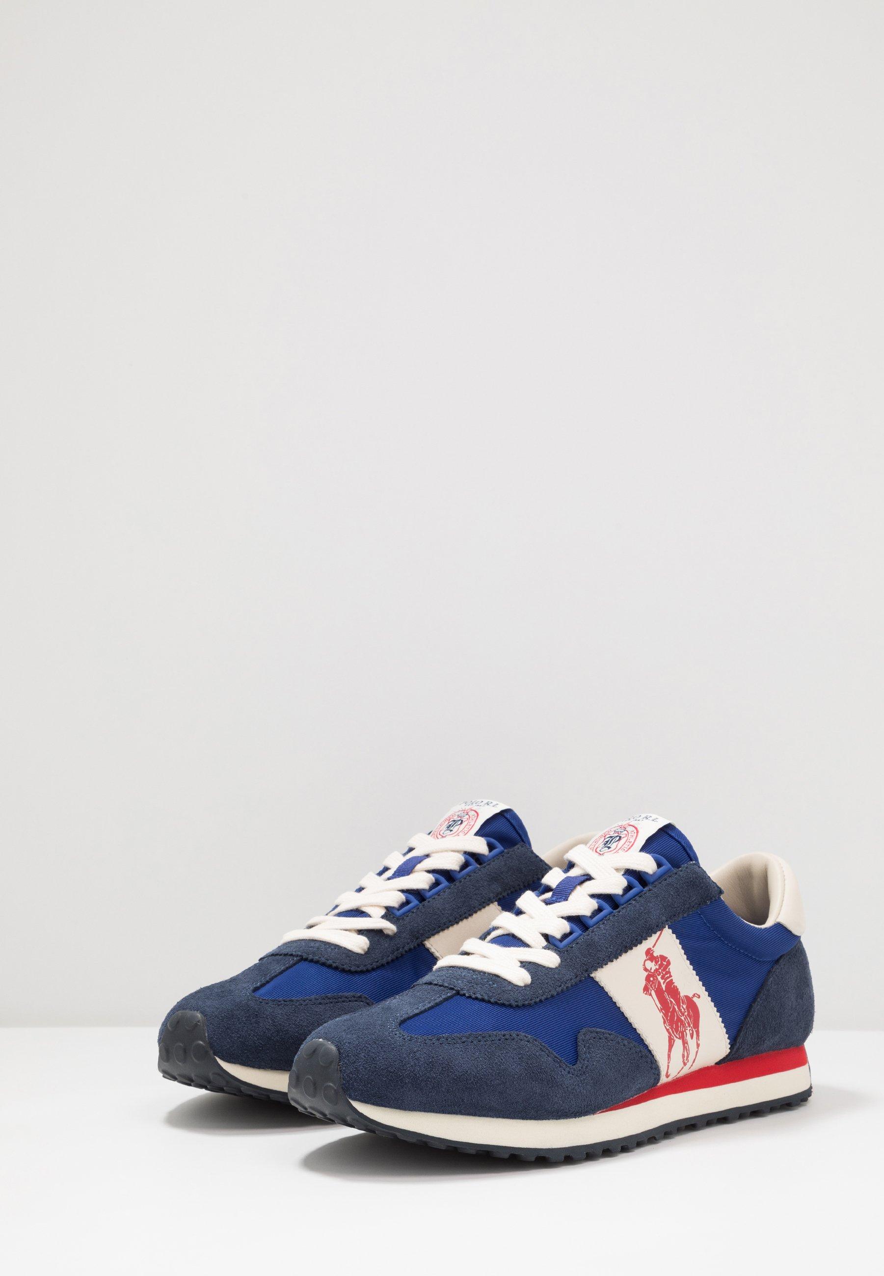 Polo Ralph Lauren TRAIN 90 - Sneakersy niskie - newport navy