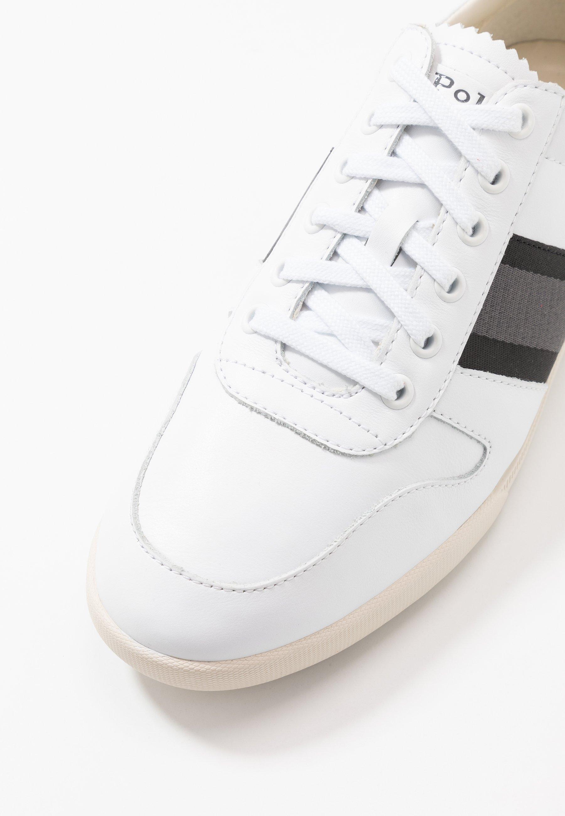 Polo Ralph Lauren CAMILO - Sneakers - white/black/grey