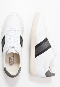 Polo Ralph Lauren - CAMILO - Sneakers laag - white/black/grey - 1