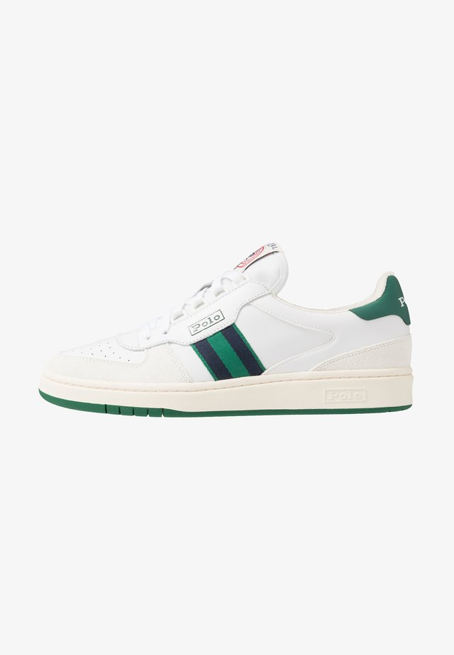 COURT ATHLETIC SHOE - Sneakers - white/kelly green