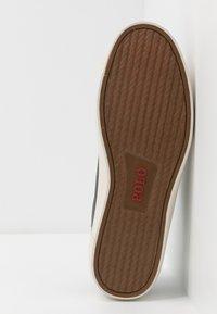 Polo Ralph Lauren - LONGWOOD - Matalavartiset tennarit - black - 4