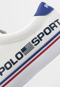 Polo Ralph Lauren - LONGWOOD - Baskets basses - white - 5