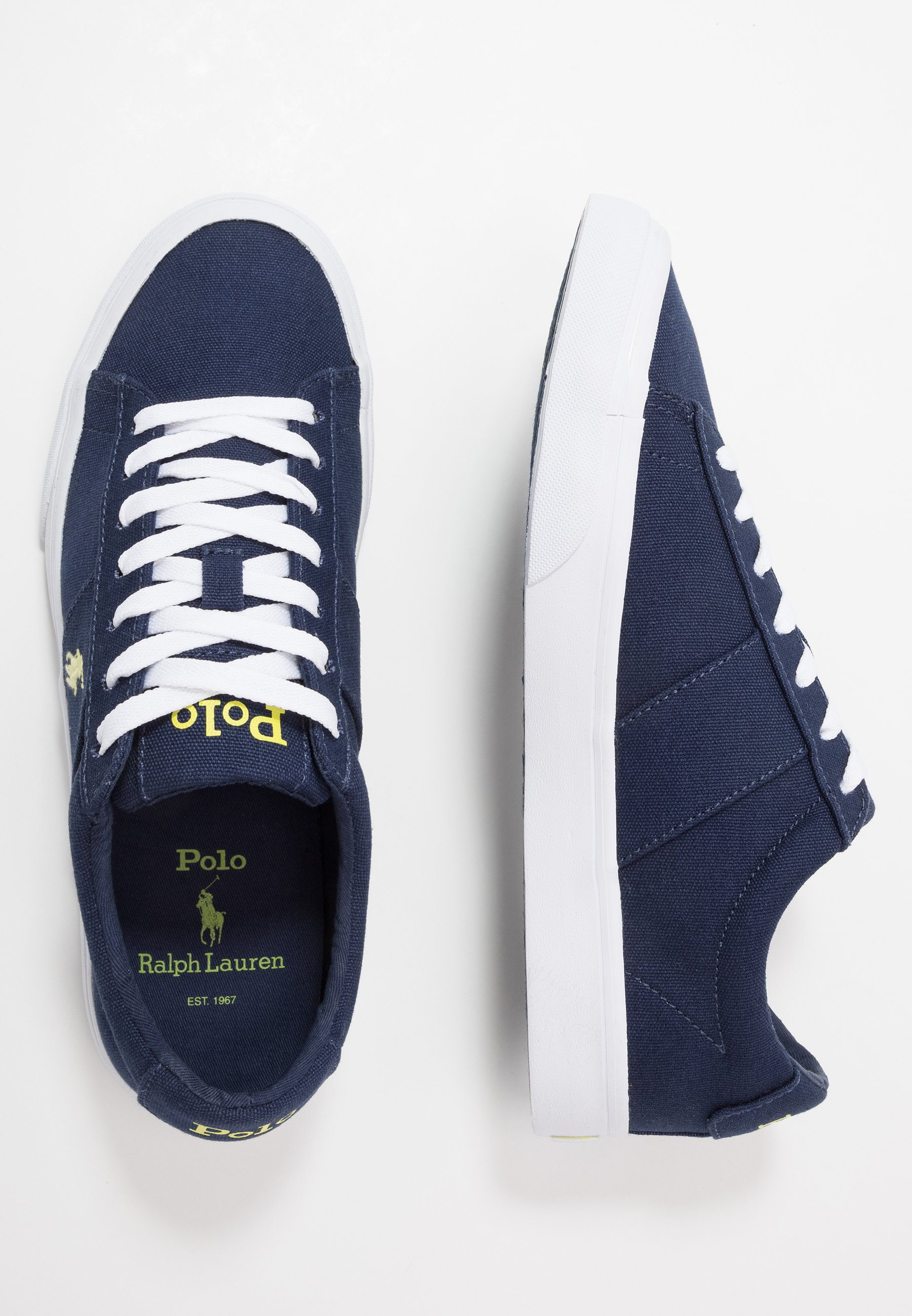 SAYER Sneakers laag navyneon yellow