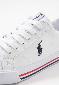 Polo Ralph Lauren - EVANSTON - Sneakers basse - white/navy - 5
