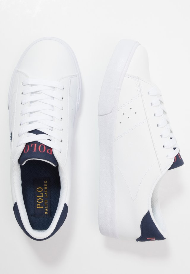 THERON - Sneakers laag - white/navy