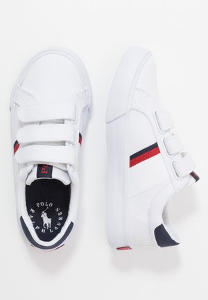 GAFFNEY - Sneakers basse - white/red/navy
