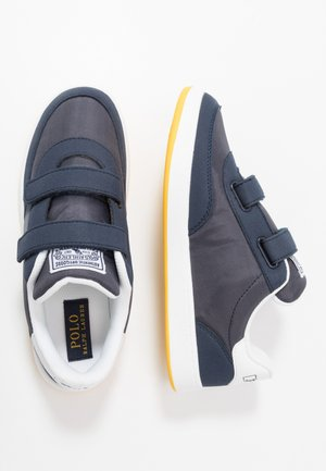 RONNIE  - Sneakers laag - navy/yellow