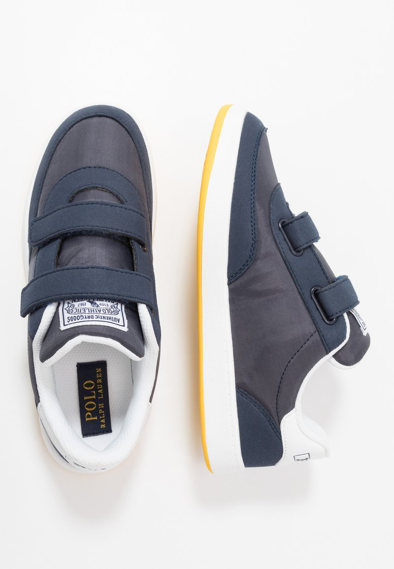 Polo Ralph Lauren - RONNIE  - Sneakers basse - navy/yellow