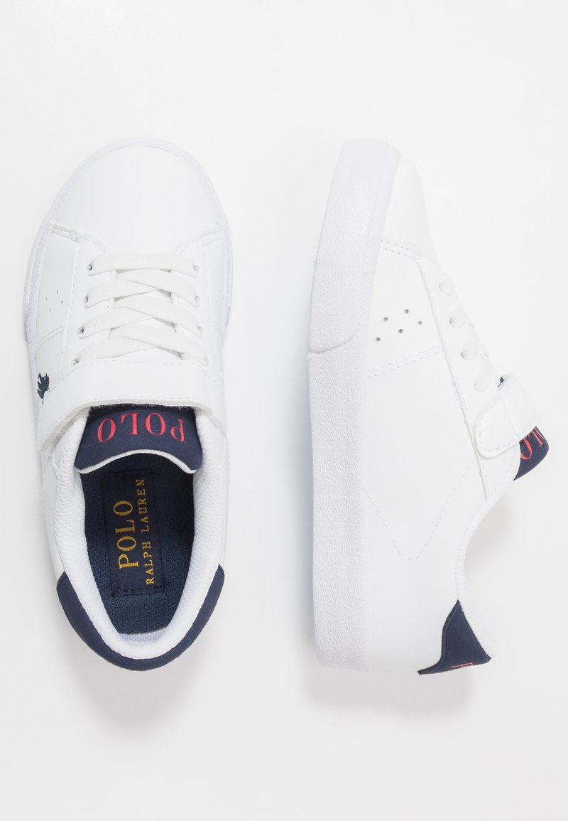Polo Ralph Lauren - THERON - Sneakers basse - white/navy