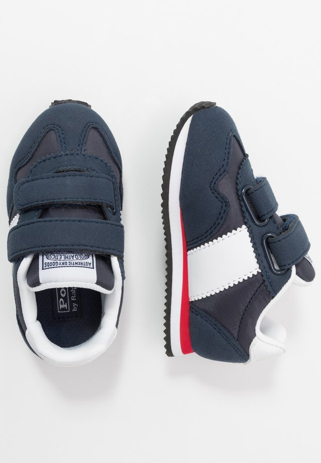 BIG PONY JOGGER - Sneakers - navy/paperwhite