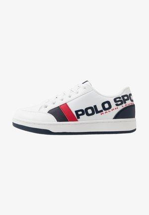 BELDEN - Sneakers basse - white/navy/red