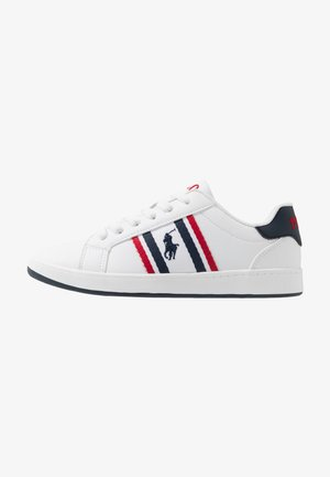 OAKLYN - Sneakers basse - white/navy/red