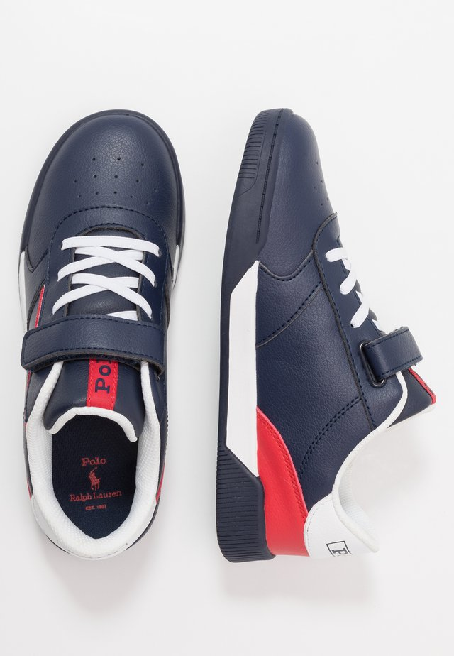 KEELIN - Trainers - navy/red/white