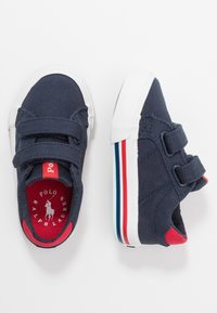 Polo Ralph Lauren - EVANSTON - Sneakers basse - navy/red - 0