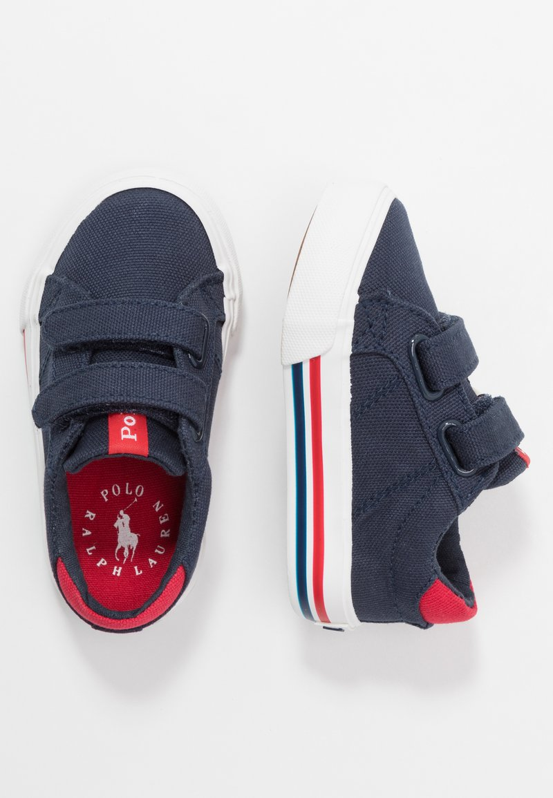 Polo Ralph Lauren - EVANSTON - Sneakers basse - navy/red
