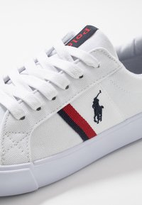 Polo Ralph Lauren - GAFFNEY - Sneakers basse - white/red/navy - 2