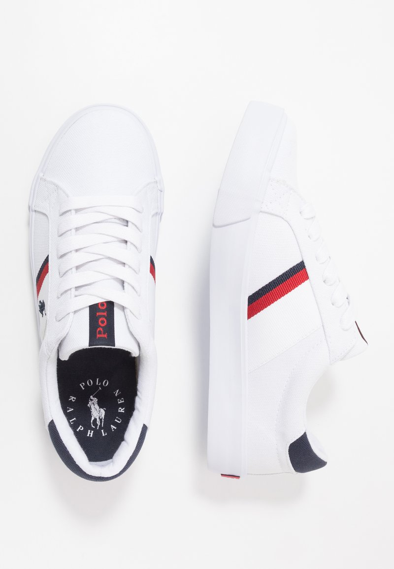 Polo Ralph Lauren - GAFFNEY - Sneakers basse - white/red/navy