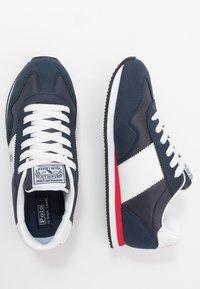 Polo Ralph Lauren - BIG PONY JOGGER - Sneakers laag - navy/paperwhite - 0