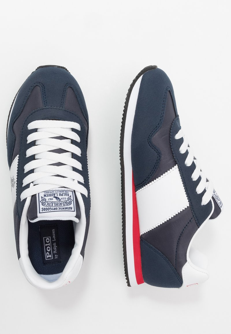 Polo Ralph Lauren - BIG PONY JOGGER - Sneakers laag - navy/paperwhite