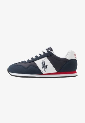 BIG PONY JOGGER - Sneakers laag - navy/paperwhite