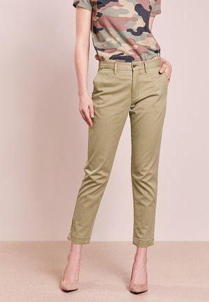Kalhoty - basic olive