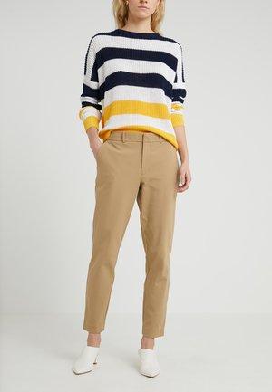 BISTRETCH - Pantaloni - luxury tan