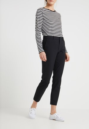 BISTRETCH - Trousers - polo black