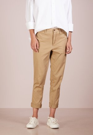 Trousers - luxury tan