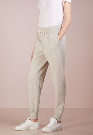 SEASONAL - Tracksuit bottoms - lt sport heather