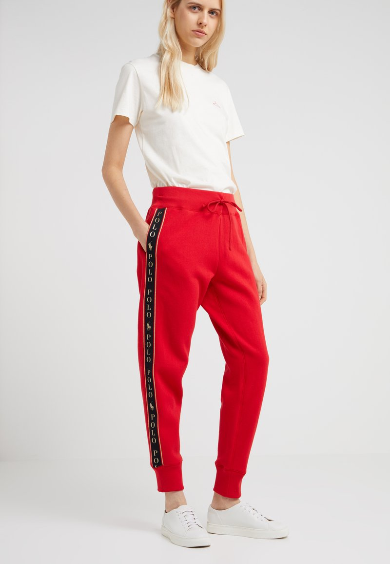 Polo Ralph Lauren - SEASONAL - Tracksuit bottoms - red