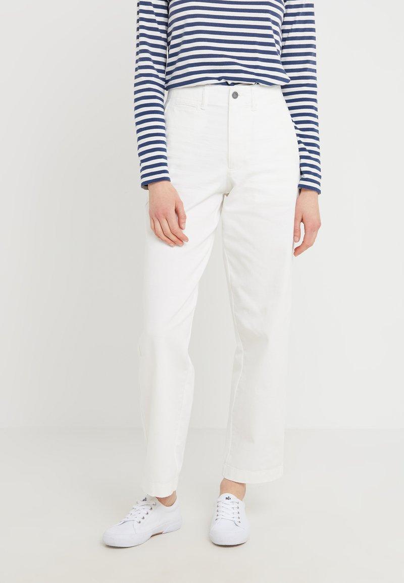 Polo Ralph Lauren - MONTAUK - Spodnie materiałowe - warm white