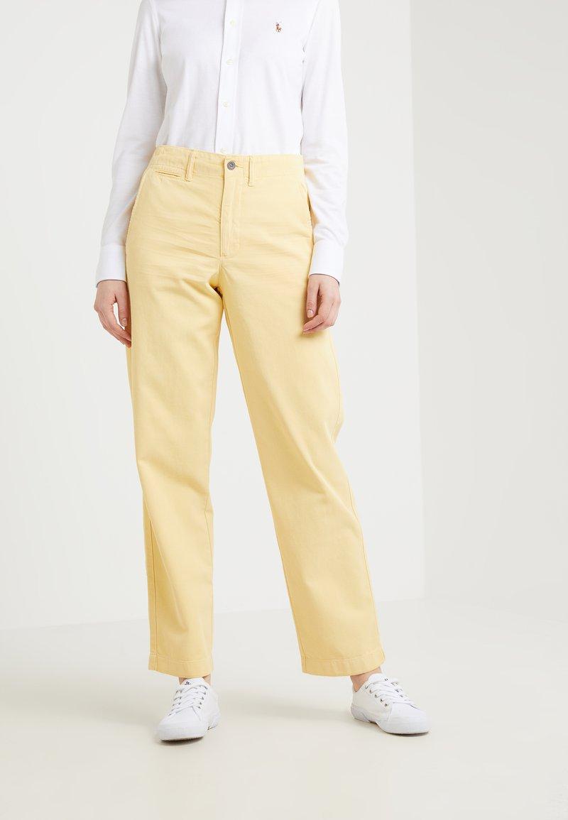 Polo Ralph Lauren - MONTAUK - Stoffhose - oasis yellow