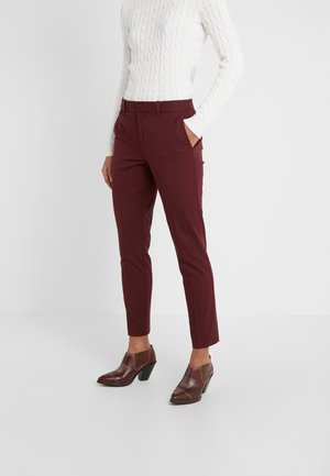 MODERN BISTRETCH - Chino - ruby red
