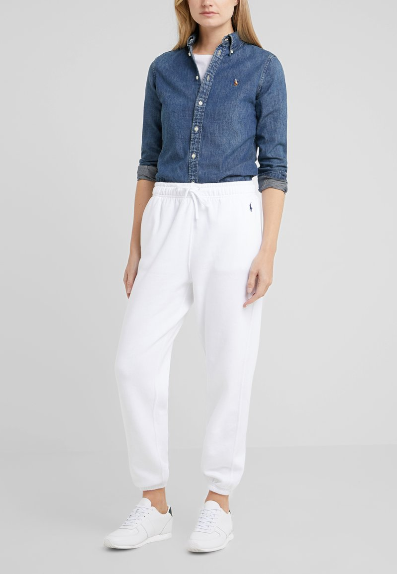 Polo Ralph Lauren - SEASONAL  - Pantaloni sportivi - white