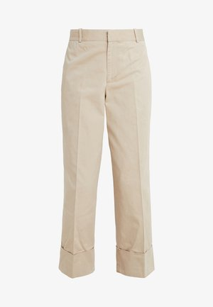 PIECE DYED - Trousers - classic tan