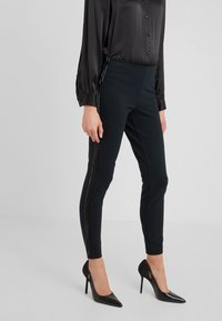 Polo Ralph Lauren - STRUCTURED - Leggings - collection black - 0