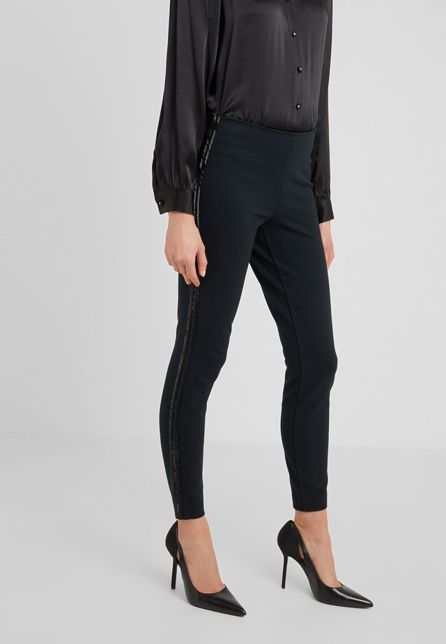 STRUCTURED - Leggings - collection black